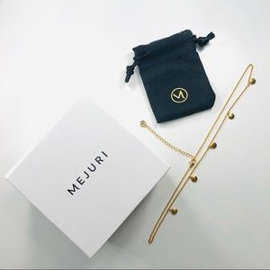 Mejuri Dot Necklace (gold vermeil)